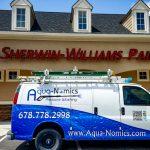 Commercial Signage w AquaNomics van (SW)