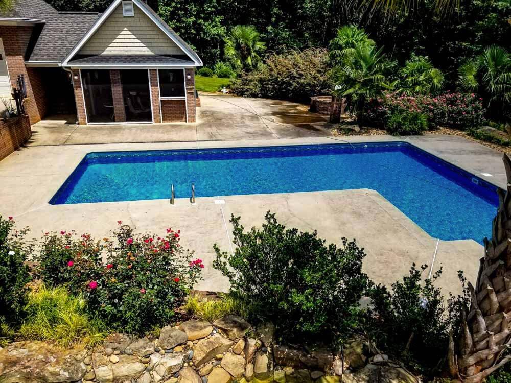 Pool Deck Pressure Washing Home Siding Cleaning Aqua