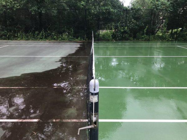 Tennis Court Cleaning Alpharetta GA