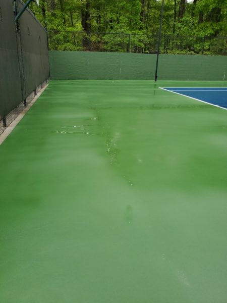 We use a combination of surface cleaners, hot water, and a unique mildewcide blend (if needed) to safely and effectively clean away years of dirt, grime, mold & mildew from your concrete, brick, or stone.