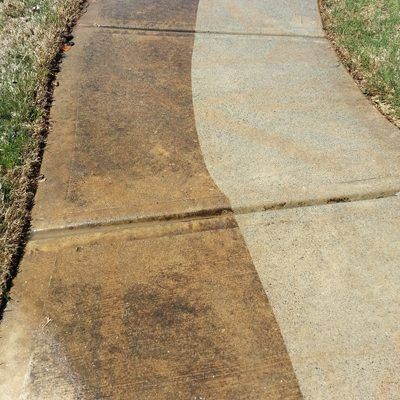 Sidewalk Power Wash Side-by-Side