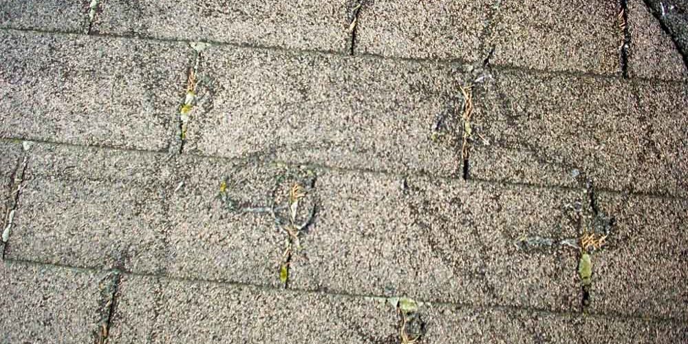 Roof Damage with Pressure Washer